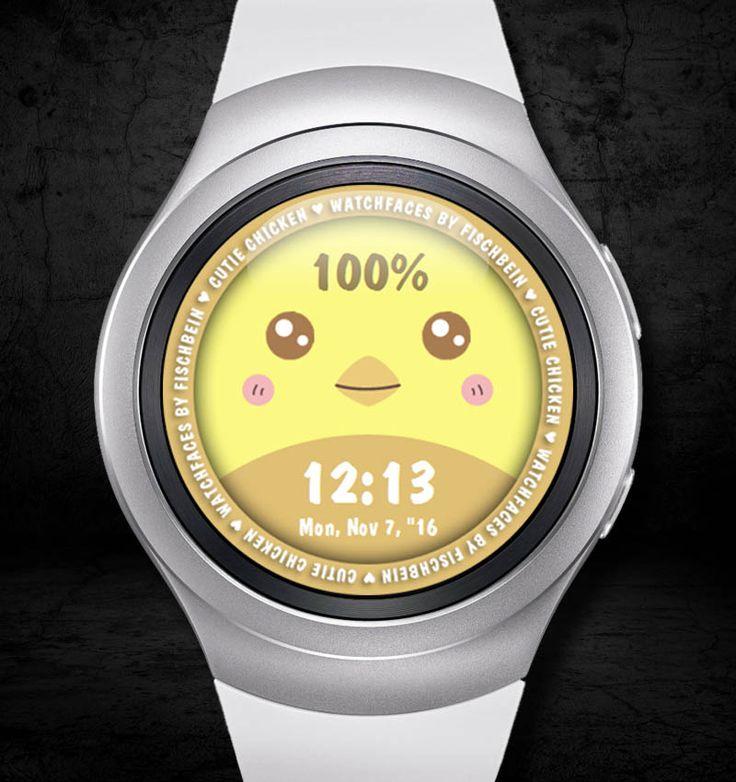 Cutie Chicken 24h – Watchfaces by Fischbein
