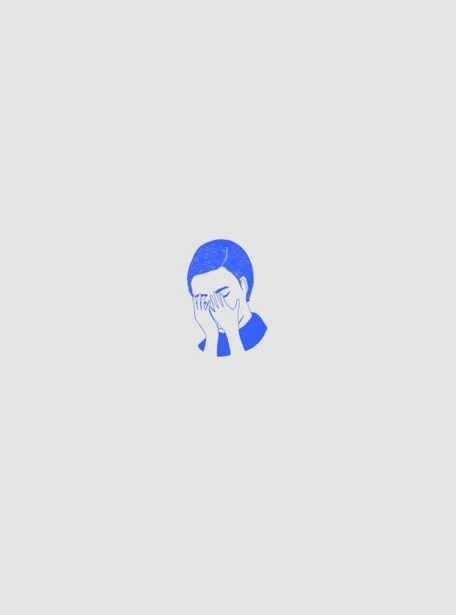 1000drawings: I am shy by uzual sunday