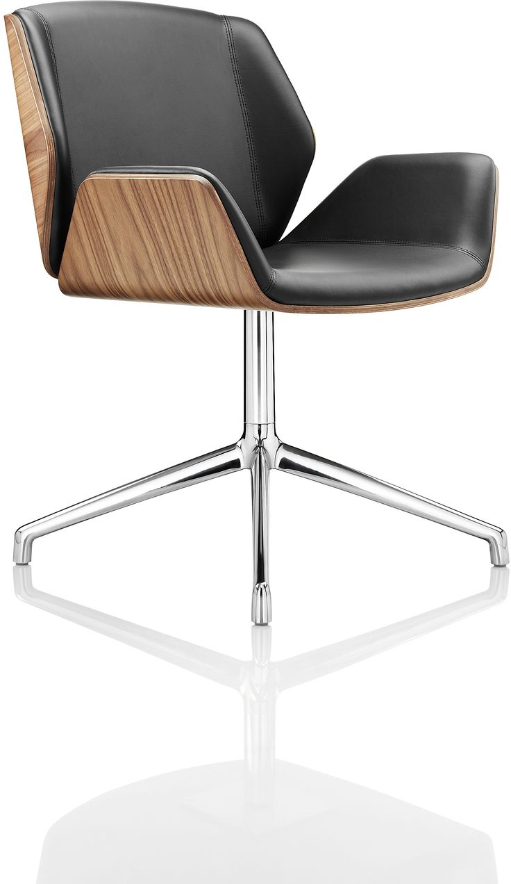 KI Blu Sky Collection: the 200 Series Swivel Chair. Eames-inspired design with…