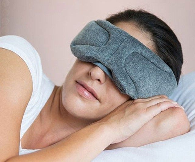 Bluetooth Sleep Mask  Never lost connection to real world as you traveling into dreamland by slumbering with the Bluetooth sleep mask