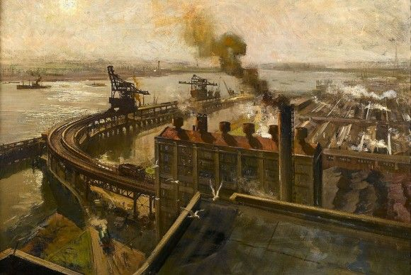 Terence Cuneo 1907-1996, Ford Thames Foundry