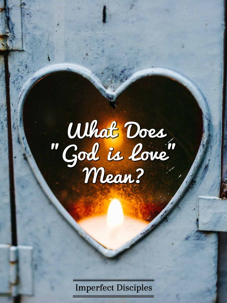 Recently I was listening to a sermon by Dr. David Jeremiah titled God is Love.