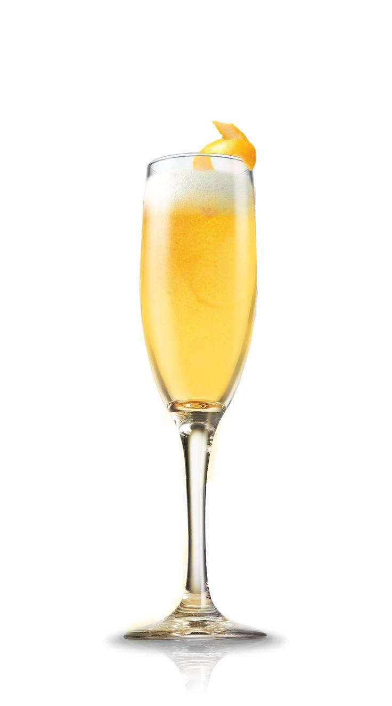 Mimosa Ingredients   4 parts orange juice   4 parts champagne   Mix  pour orange juice into the champagne glass   add champagne to the glass   stir together   garnish with orange wedge