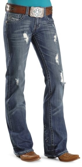 """Cowgirl Tuff Jeans - Slim Fit - 33"""" Inseam available at #Sheplers"""