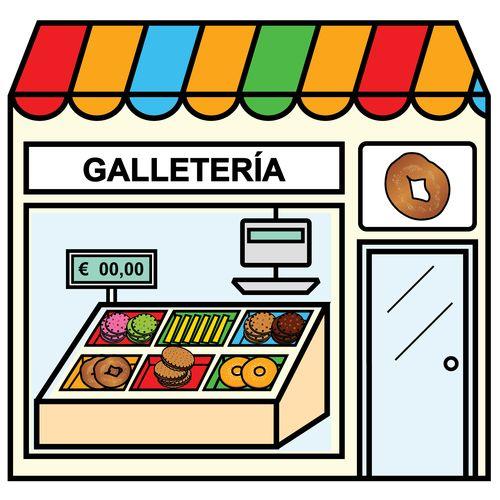 Pictogramas ARASAAC - Galletería.