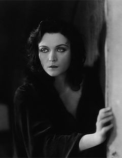 Pola Negri (1897 –  1987) was a Polish stage and film actress who achieved worldwide fame for her tragedienne and femme fatale roles from the 1910s through the 1940s during the Golden Era of Hollywood film. She was the first European film star to be invited to Hollywood, and became a great American star.