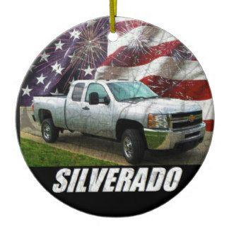 2013 Silverado 2500HD Extended Cab W/T 4x4 Ceramic Ornament