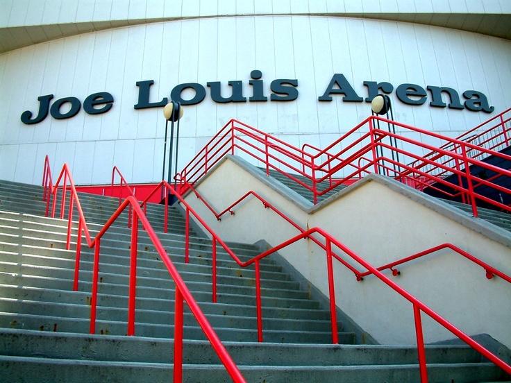 Joe Louis Arena, 600 Civic Center Drive in Detroit, Michigan = home.