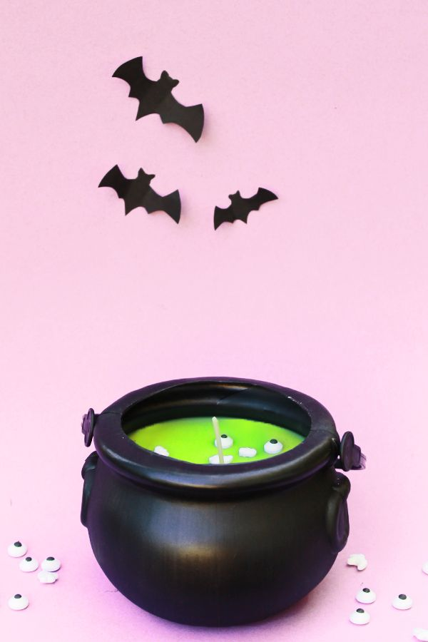 Witches Brew Halloween Candle
