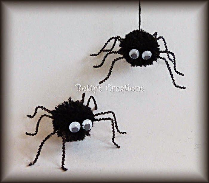 Bettys Creations - Pompom Spinnen