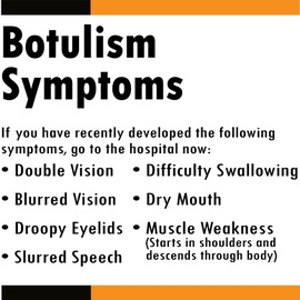 Causes, Symptoms, Prevention, Diagnosis and Treatments for Botulism.  Never had a bad jar, but just in case...