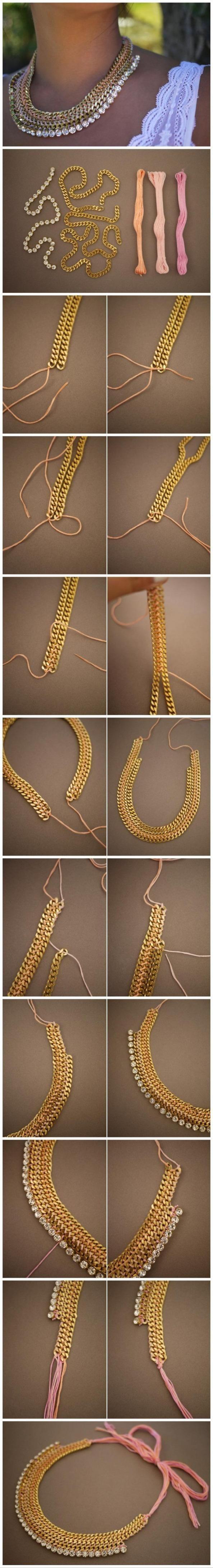 diy your own necklace Lust darauf mit Schmuck Geld zu verdienen? www.silandu.de