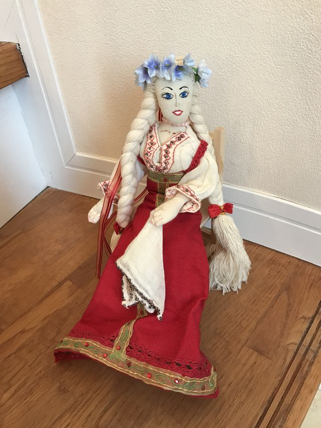 ロシア人形。民族衣装のロシア美人 | ハンドメイドマーケット minne