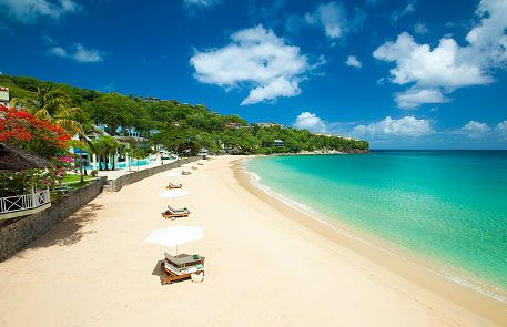 ST. LUCIA - Sandals Regency La Toc  -  the largest of the 3 resorts in St. Lucia, this resort is nearly 2 resort in one! The suites set back in the bluff  the gorgeous Millionaires Suites make this resort one of the best for incredible views from the hilltop