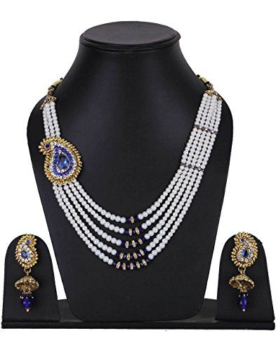 Latest Indian Bollywood Gold Plated Blue Stone White Pear... https://www.amazon.com/dp/B01MZB0N4K/ref=cm_sw_r_pi_dp_x_xHDHybA0PT6D8