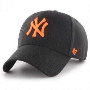 c6dea1af0e2 47 Brand New York Yankees MVP Snapback Cap - Black