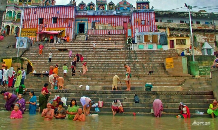 Gangi river India