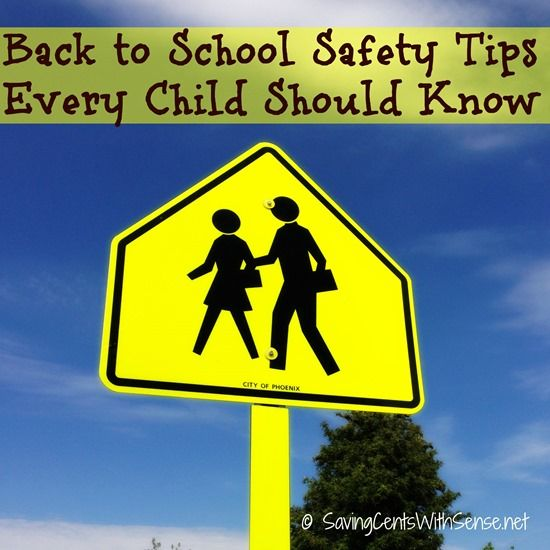 Back to School Safety Tips Every Child Should Know - #backtoschool #safetytips #kids