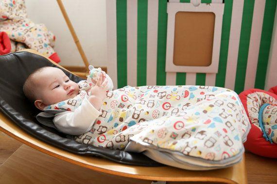 Mezoome Organic baby Sleep sack / Baby bunting bag by mezoome