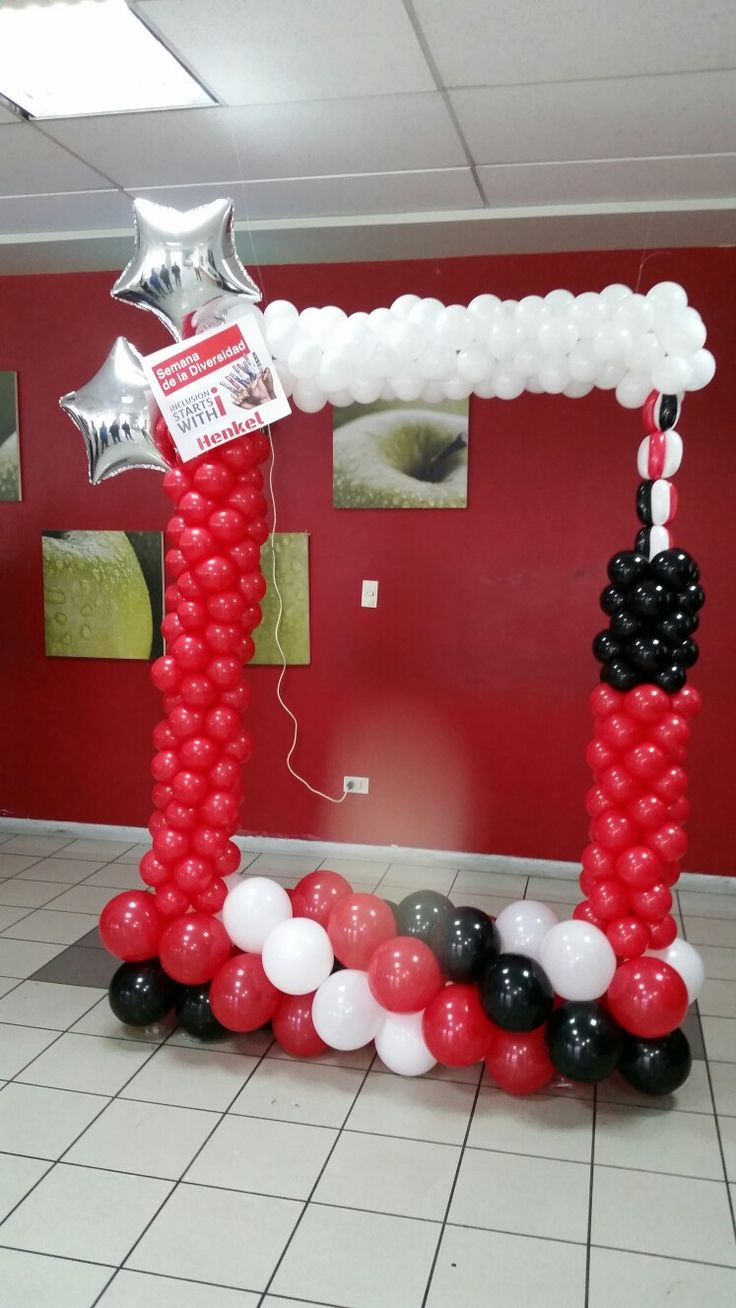 1000 Images About Balloon Frame On Pinterest Sweet 16