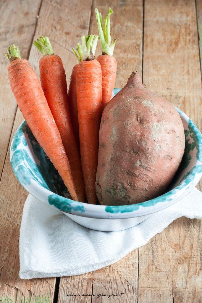 Vellutata arancione, di patate americane e carote (4)