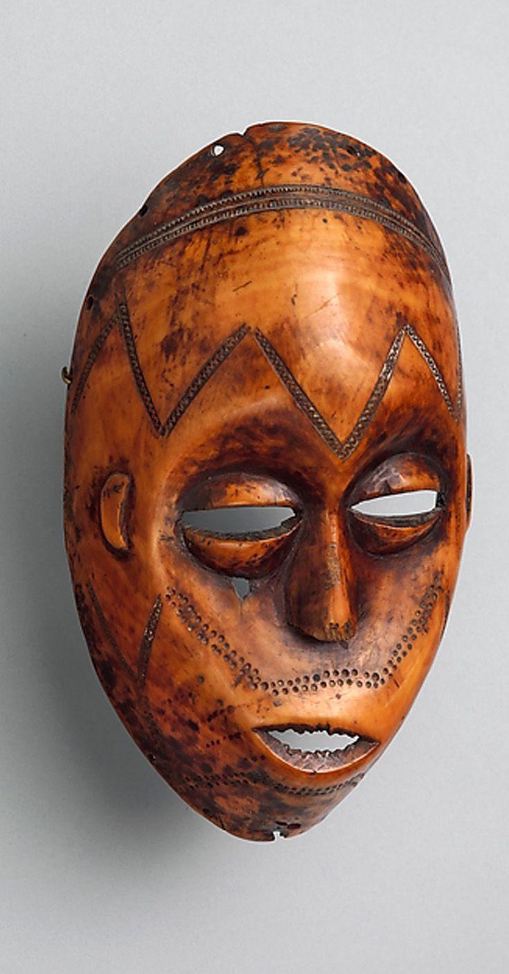 Africa Bwani Lukungu Mask From The Lega People Of The