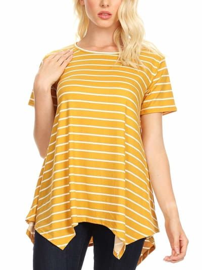 088673b67 26 Inexpensive Tees You'll Want To Buy In Every Color | Tunics for ...