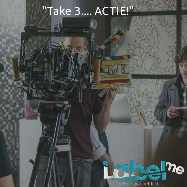 Het gaat goed! #LabelMeFilm #making_of MEER_WETEN? #LMF