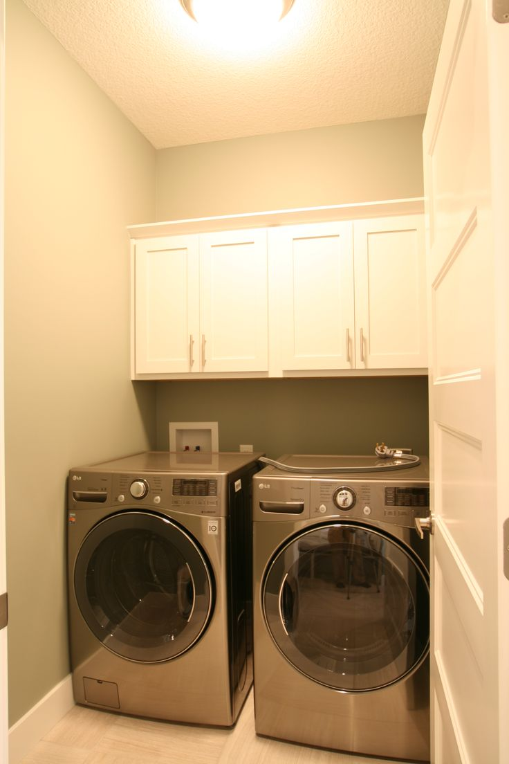 17 best images about laundry room on pinterest front for Shelf above washer and dryer