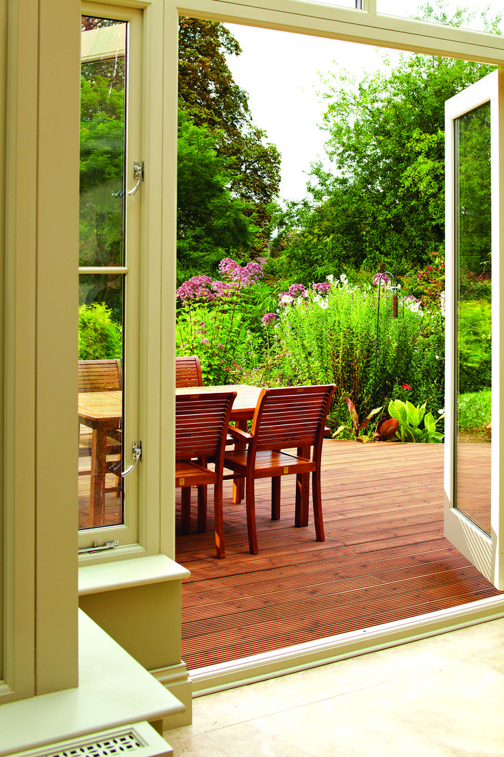 match your garden furniture to your decking with a classic stain or oil - Garden Furniture On Decking