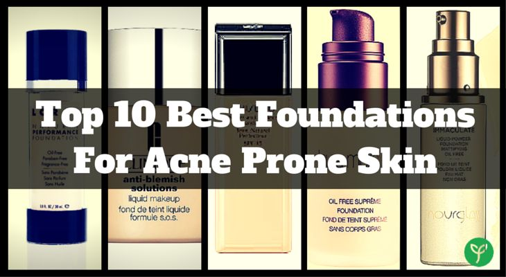 Want to find the best foundation for your acne prone skin? Check out the top 10 recommendations selected by our experts. Trusted by thousands of customers!