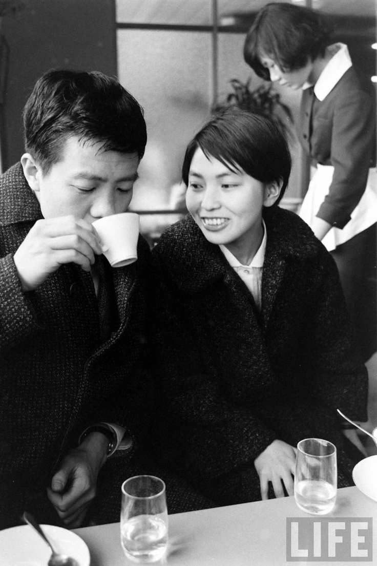 """""""Japanese Love Story"""" series, 1960s by John Dominis"""