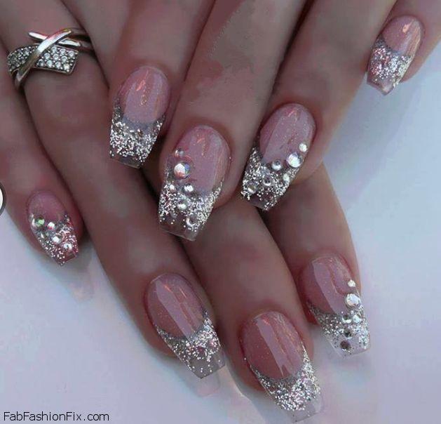 Fabulous glitter nails inspiration