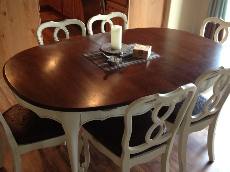 950 Refinished Hardwood Maple Dining Table For 6