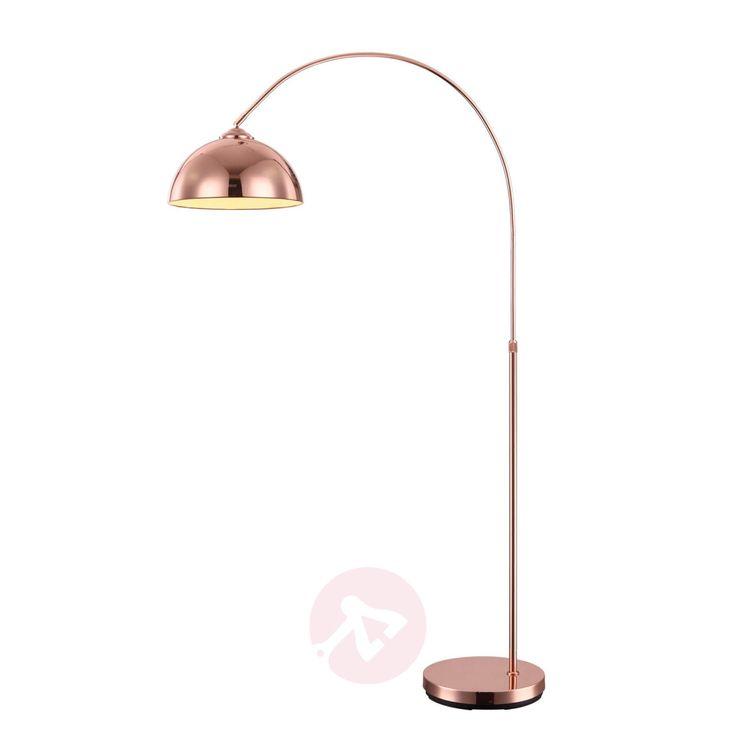 Arc-shaped floor lamp Pelin   Lights.co.uk