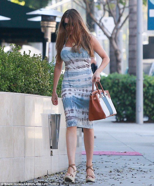 """Stand out like Sofia Vergara in Prada sandals  Click """"Visit"""" to buy #DailyMail"""