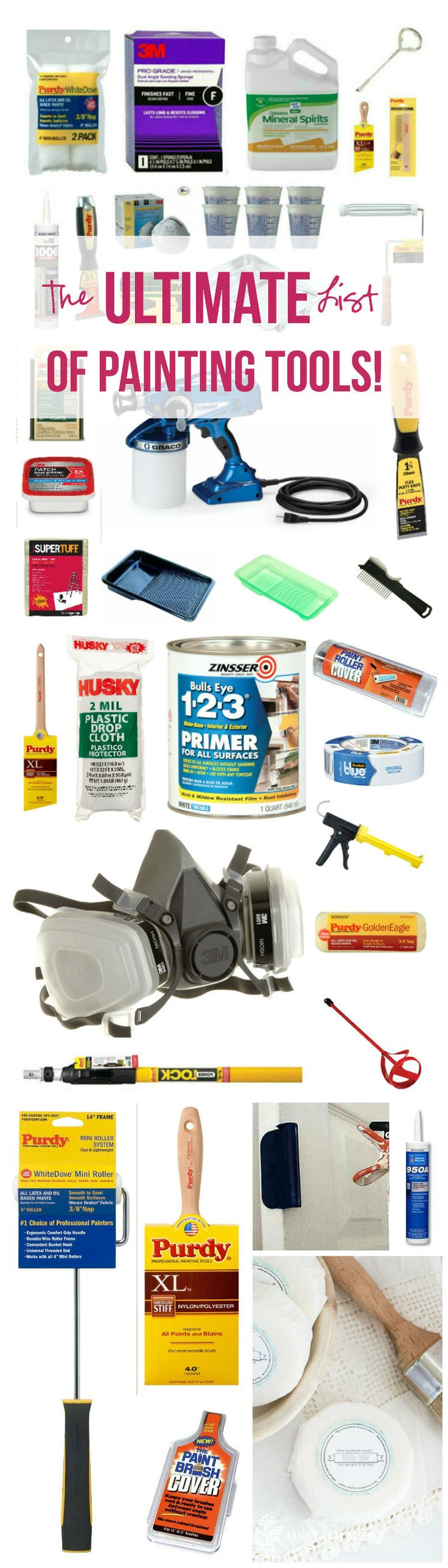 The ULTIMATE List of Painting Tools! - Happily Ever After, Etc.