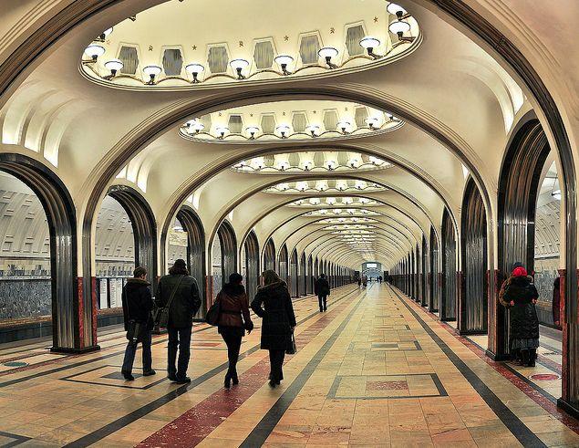 AD Classics: Moscow Metro / Robert Pogrebnoi and Yuriy ...