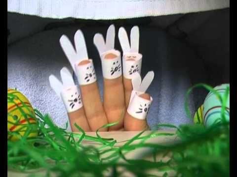 Sechs Häschen - Fingertheater - Fingerspiel - Kindergedicht von Thomas Koppe - YouTube