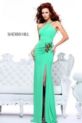 Тёмно синее платье шерри хилл