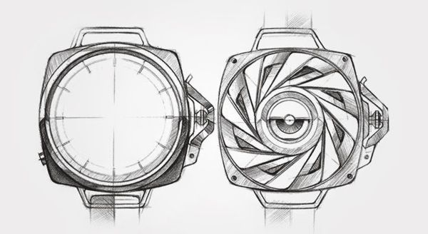 movements and wrist watches by adityaraj dev, via Behance