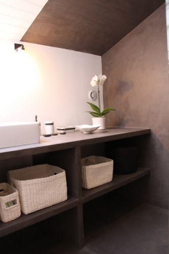 Ambiance salle de bain - Combles