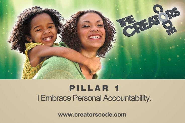 I embrace personal accountability!