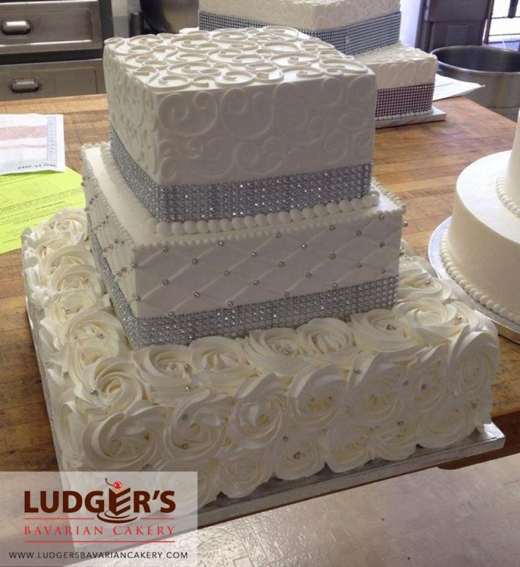 ludger s wedding cakes tulsa ludger s cakery square wedding cake disney 16962
