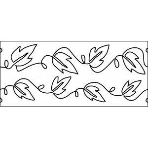 80 best mid arm templates images on pinterest quilting templates 10 inch vines and ivy quilting template quilt ez pronofoot35fo Images