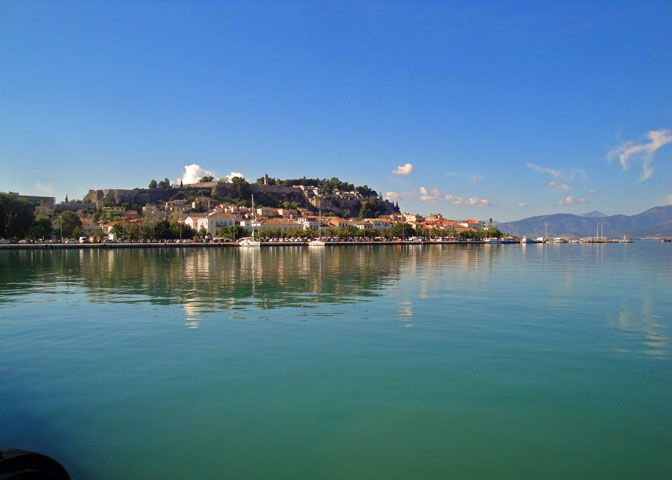 #Nafplio old town in the #Peloponnese - #Greece