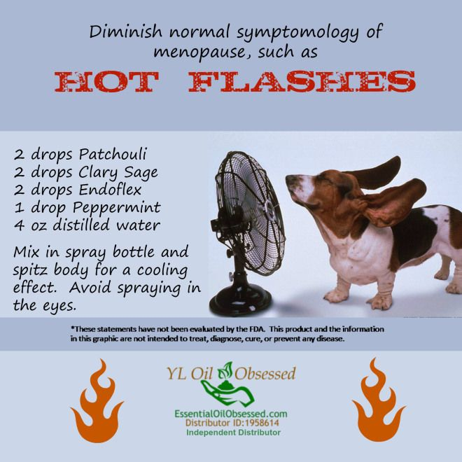 Young Living Essential Oils: Hormones Hot Flashes