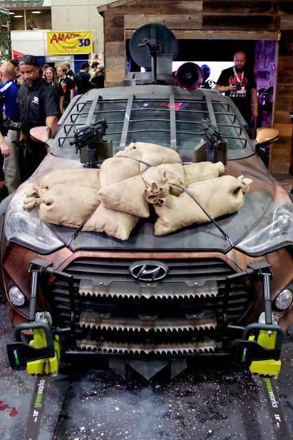 Hyundai Zombie Survival Machine revealed!