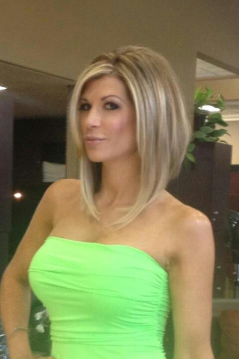 Alexis Bellino Rhoc Gorgeous New Long Bob I Love This Hair Cut But