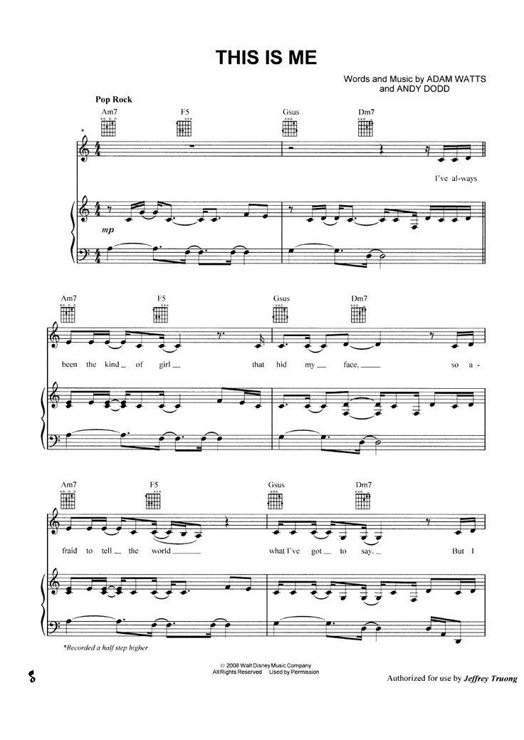 Piano skyscraper piano sheet music : 10 best Music images on Pinterest   Sheet music, Piano music and Music